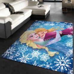 Elsa And Anna Frozen Rug