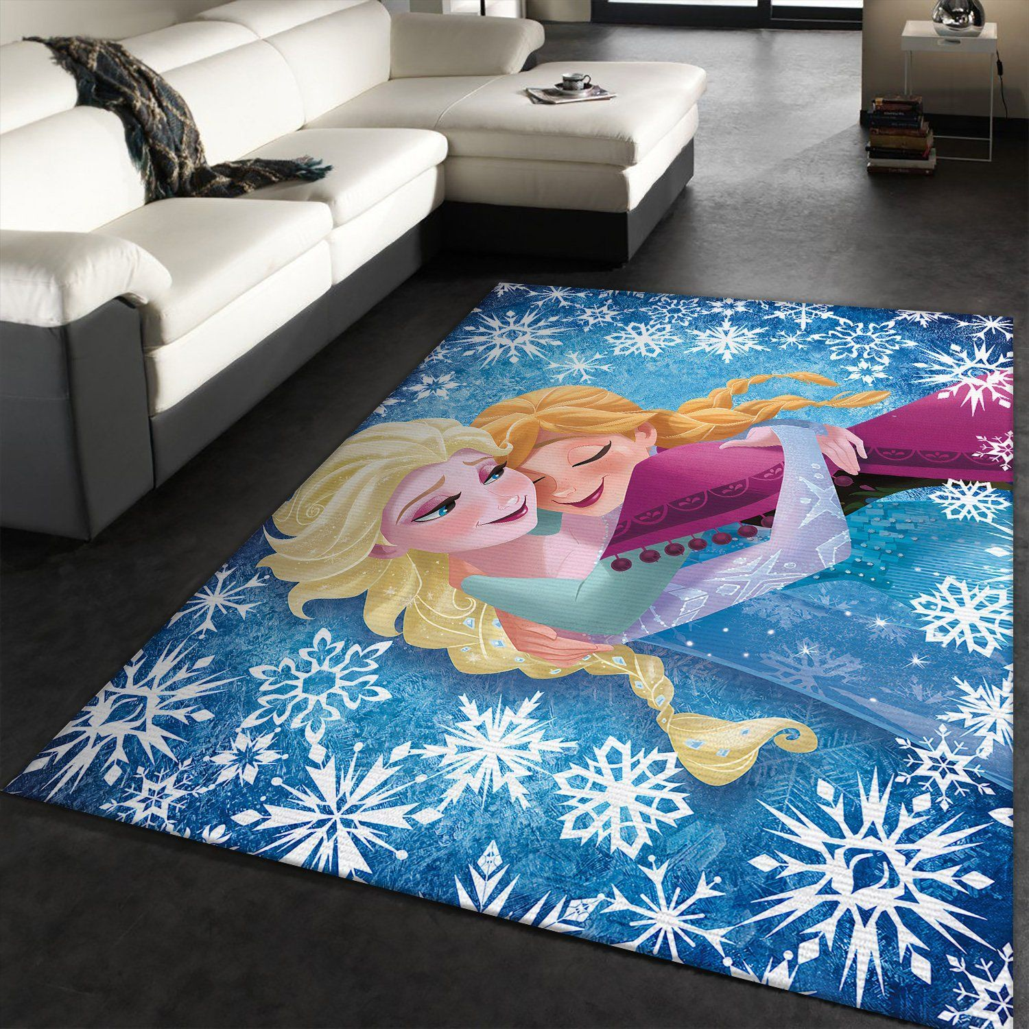 Elsa And Anna Frozen Rug