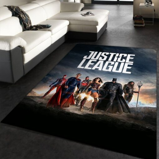 Justice League DC Comic Movies Rug