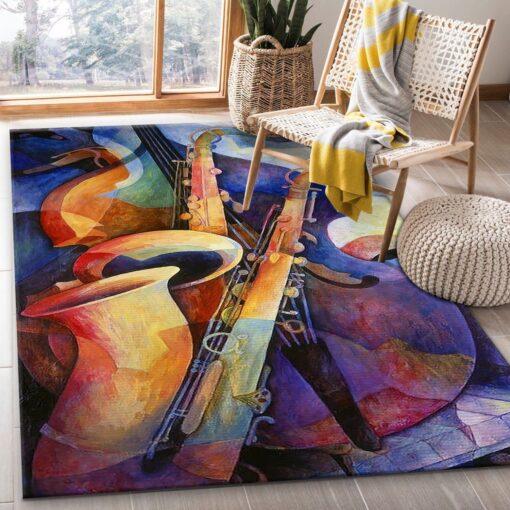 Musical Instrument Rug