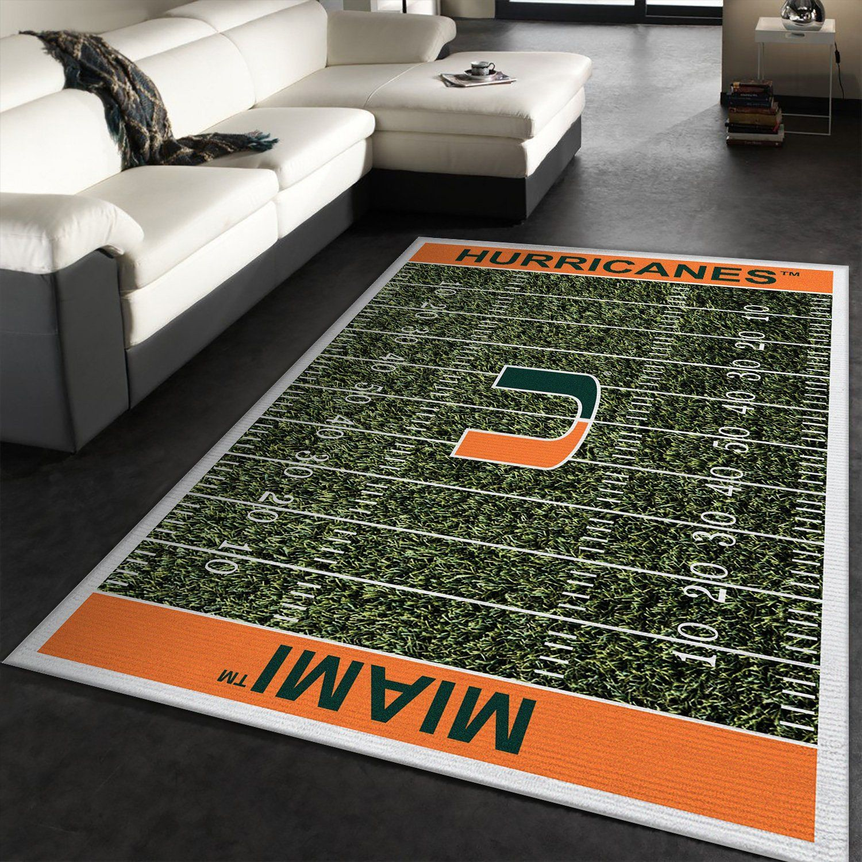 NFL Miami Hurricanes Rug