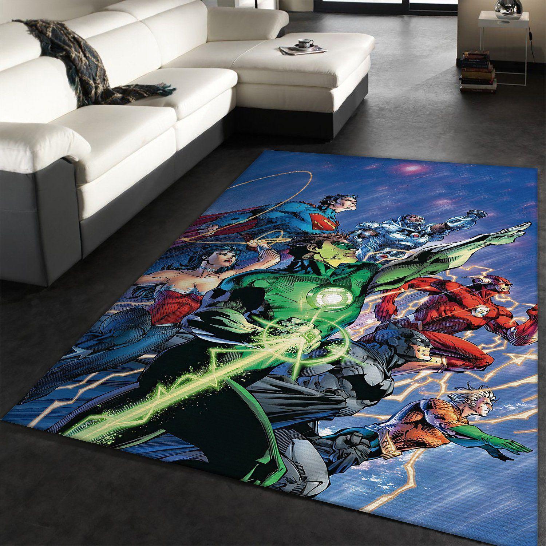 Justice League Carpet