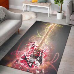 Eddie Van Halen Guitar Rug