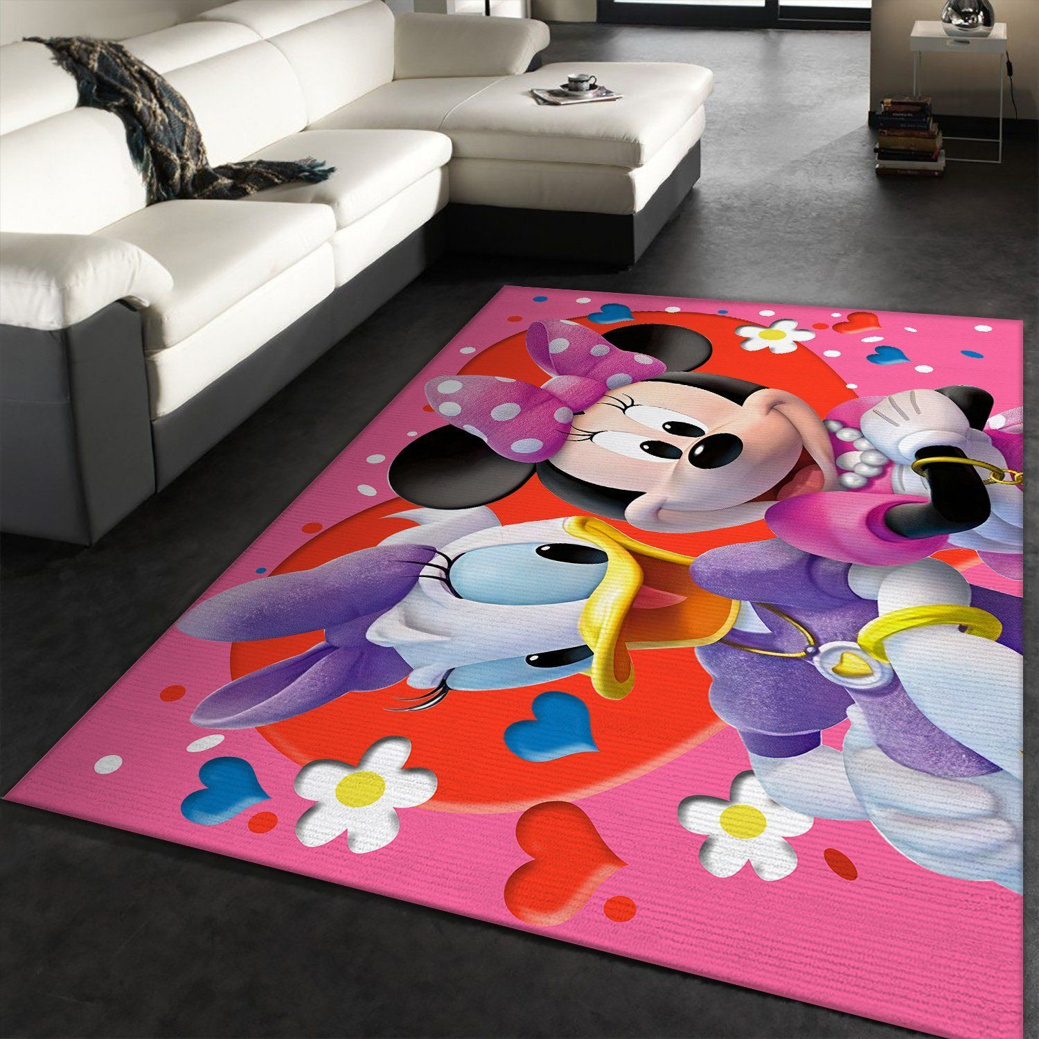 Minnie Mouse And Daisy Duck Rug