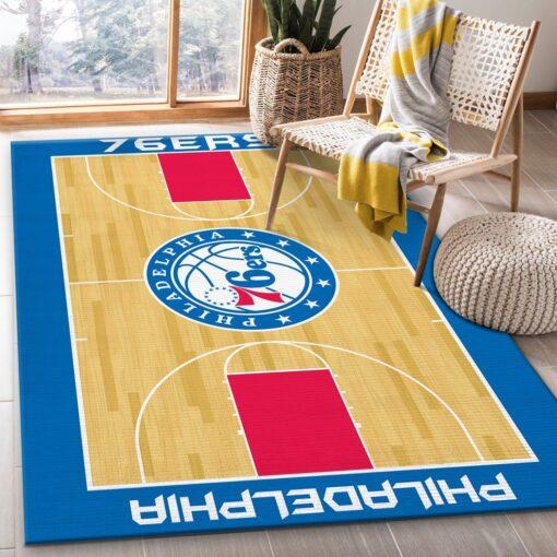 Philadelphia 76Ers NBA Rug