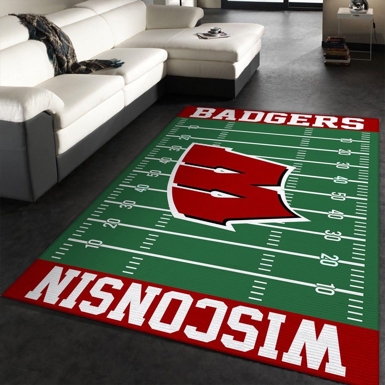 Wisconsin Badgers NFL Rug