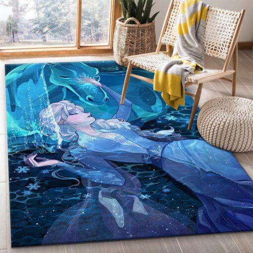 Elsa Frozen RugElsa Frozen Rug