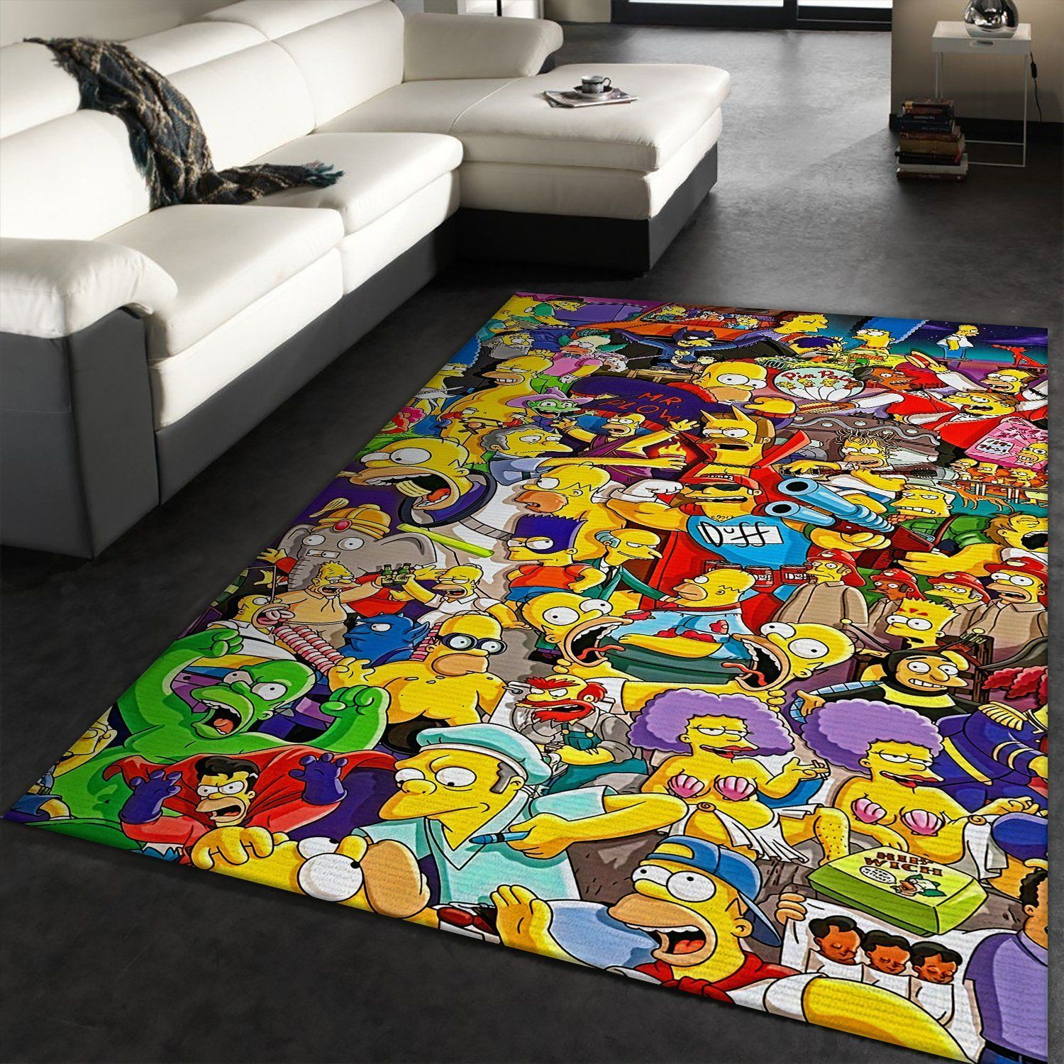 The Simpsons Rug