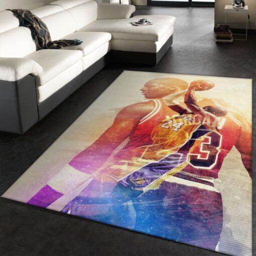 Michael Jordan NBA Rug