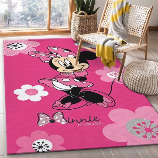 Minnie Mouse Pink Rug