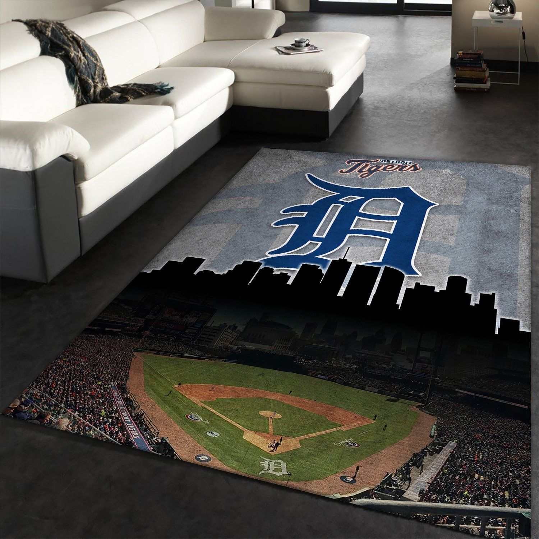 Detroit Tigers Rug