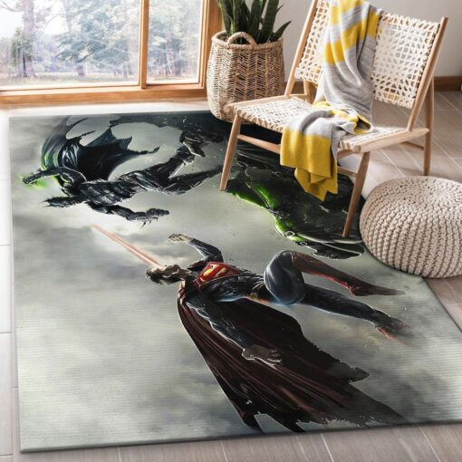 Batman VS Superman SuperHero Rug