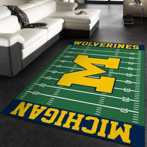 NFL Michigan Wolverines Rug