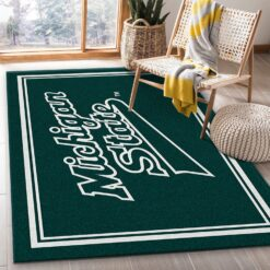 Michigan State Rug