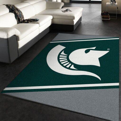 Logo Michigan State Rug