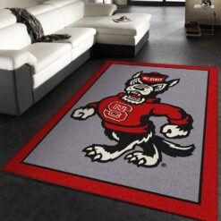 North Carolina State Rug