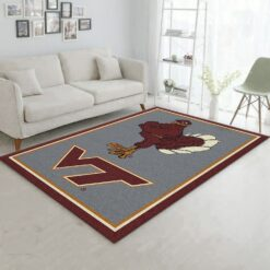 Virginia Tech Hokie Bird Rug