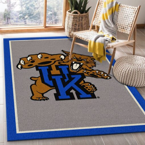 Kentucky Wildcats Logo Rug