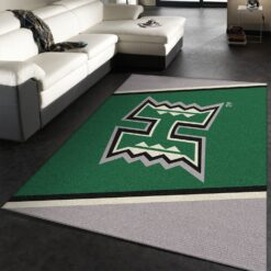 Hawaii Rainbow Warriors Rug