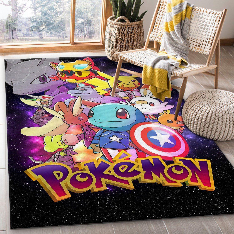 Avengers Pokemon Rug