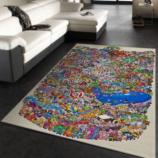 Pokemon Area Rug