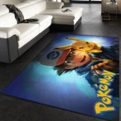Pikachu Cute Pokemon Rug