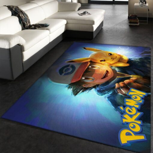 Pikachu Cute Pokemon Rug