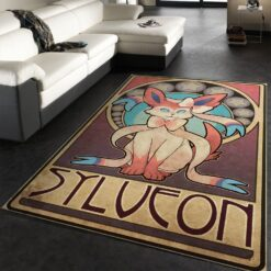 Sylveon Pokemon Rug