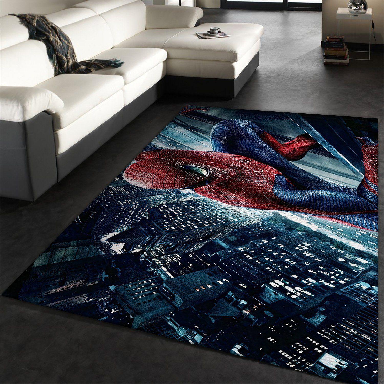 Peter Parker Spider Man Rug