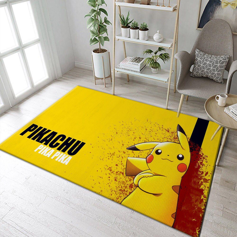 Pikachu Pokemon Anime Rug