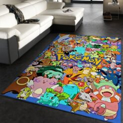 Pokemon Family Rug