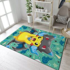 Pikachu Pokemon Rug