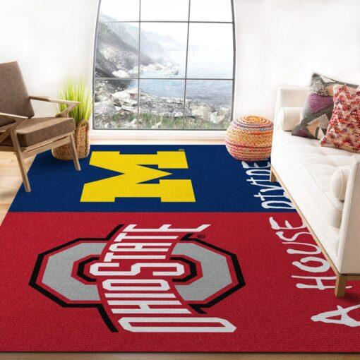 Ohio State Ft Michigan Ncaa Rug