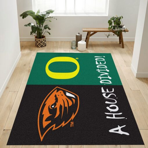 Oregon Vs Oregon State Rug