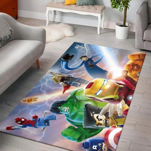 Lego Marvel Avengers Rug