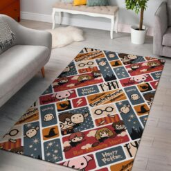 Harry Potter Chibi Pattern Rug
