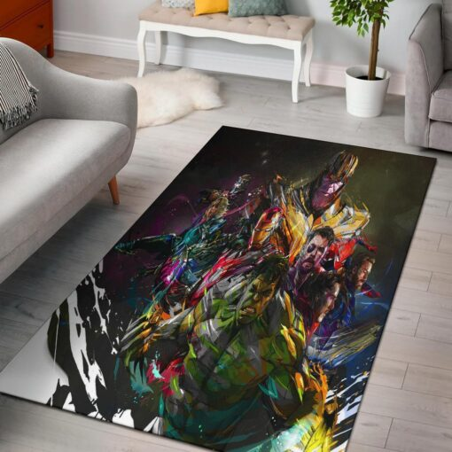 Avengers End Game Rug