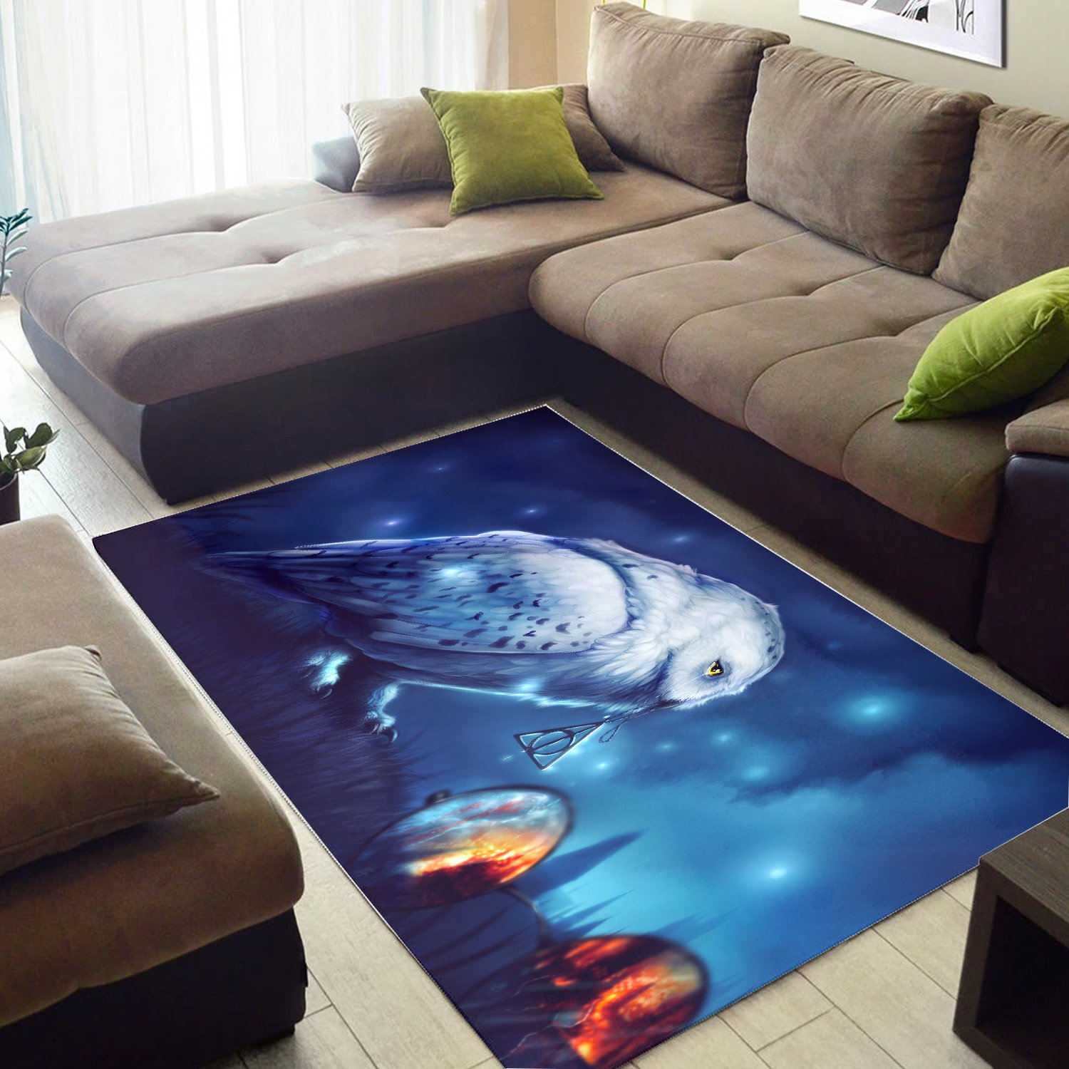 Harry Potter And Deathly Hallows Rug