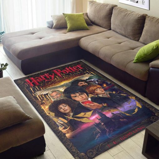 Harry Potter Sorcerer's Stone Rug