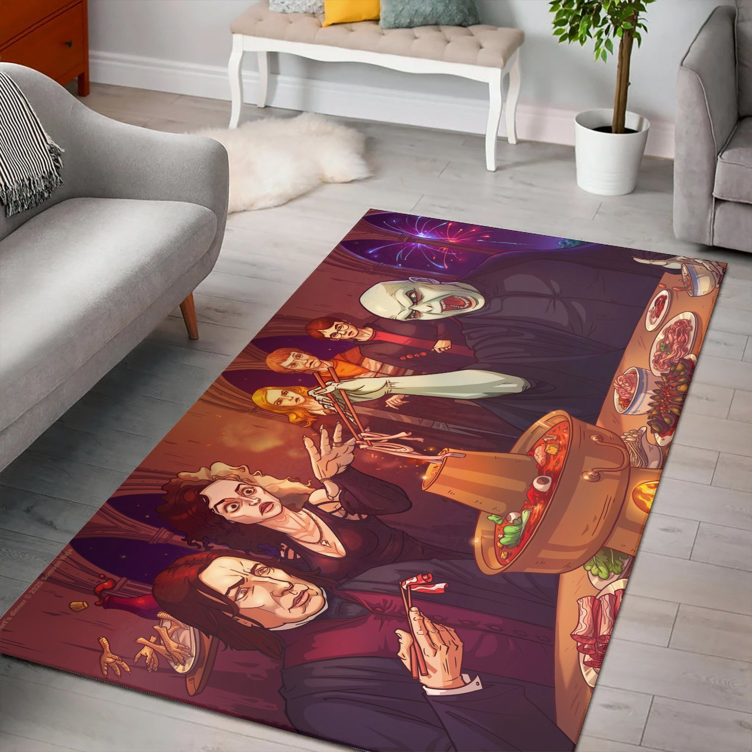 Harry Potter Lord Voldemort Rug