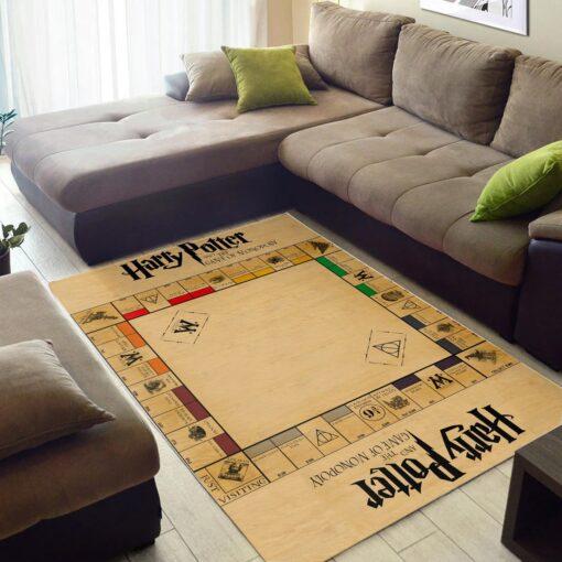 Harry Potter Monopoly Board Rug
