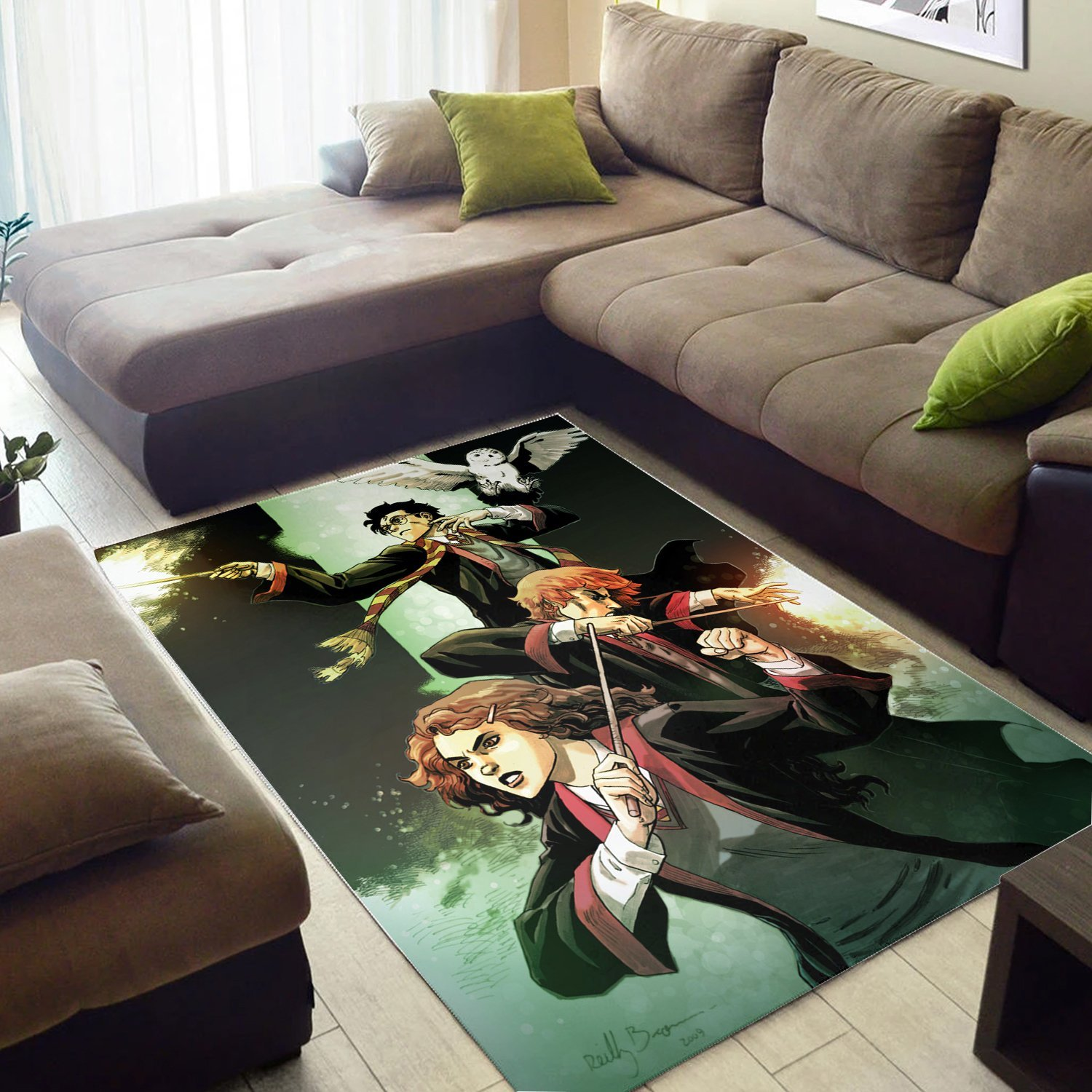Harry Potter And Ron Weasley Rug