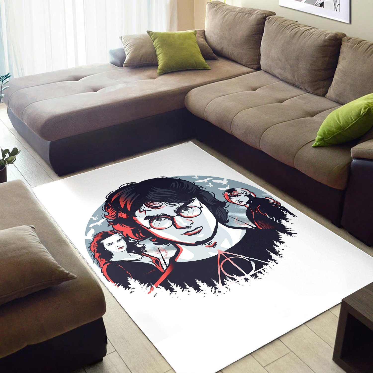 Harry Potter And Best Friends Rug
