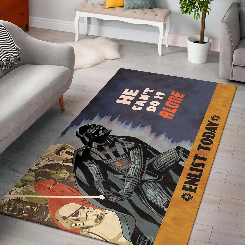 Darth Vader Stormtrooper Star Wars Rug