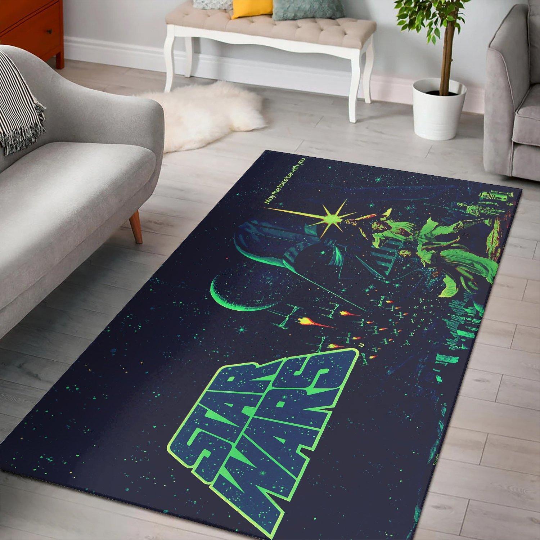 Star Wars Movie Poster Rug
