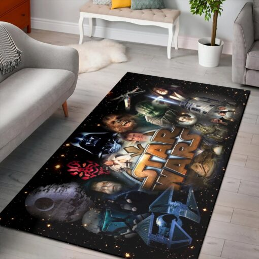 Characters Sci Fi Of Star Wars Rug
