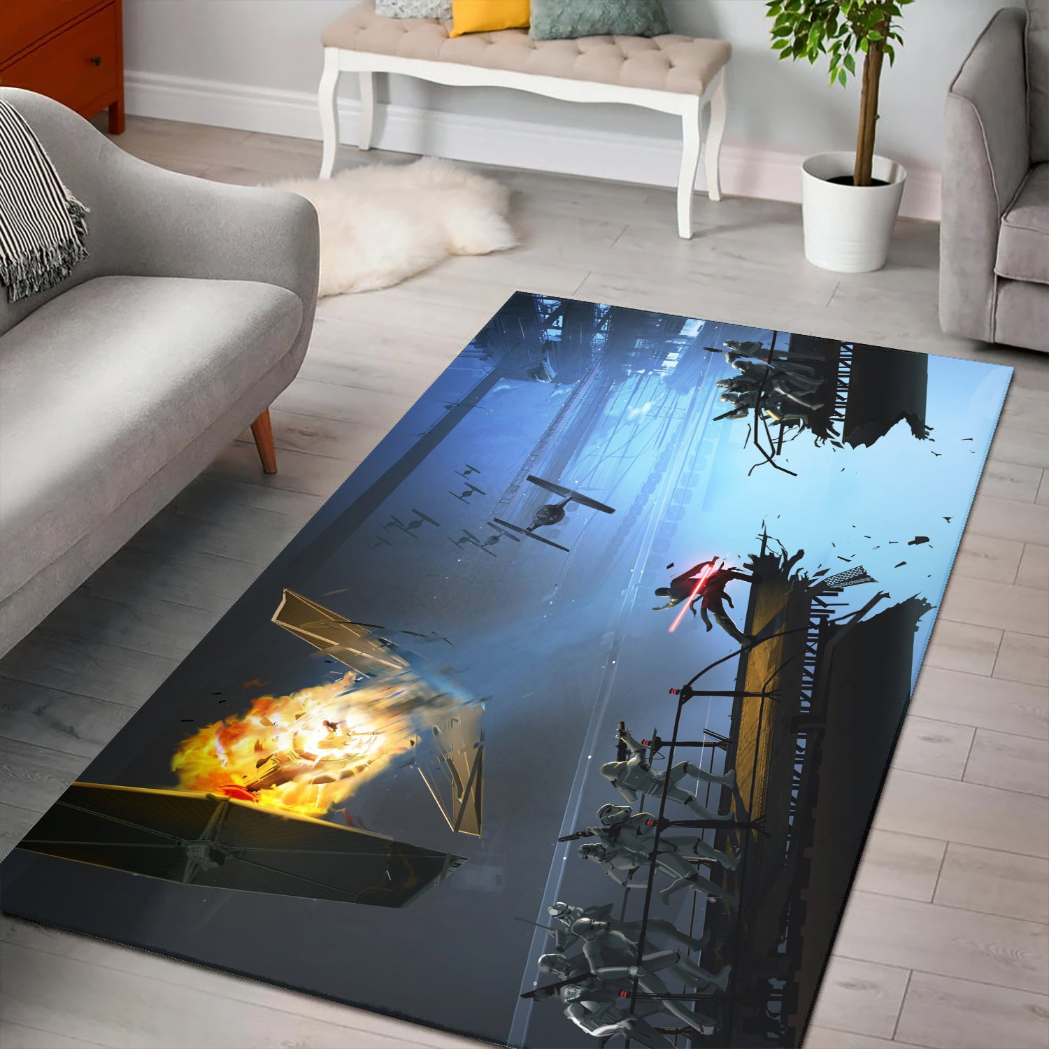 Star Wars The Force Unleashed Rug