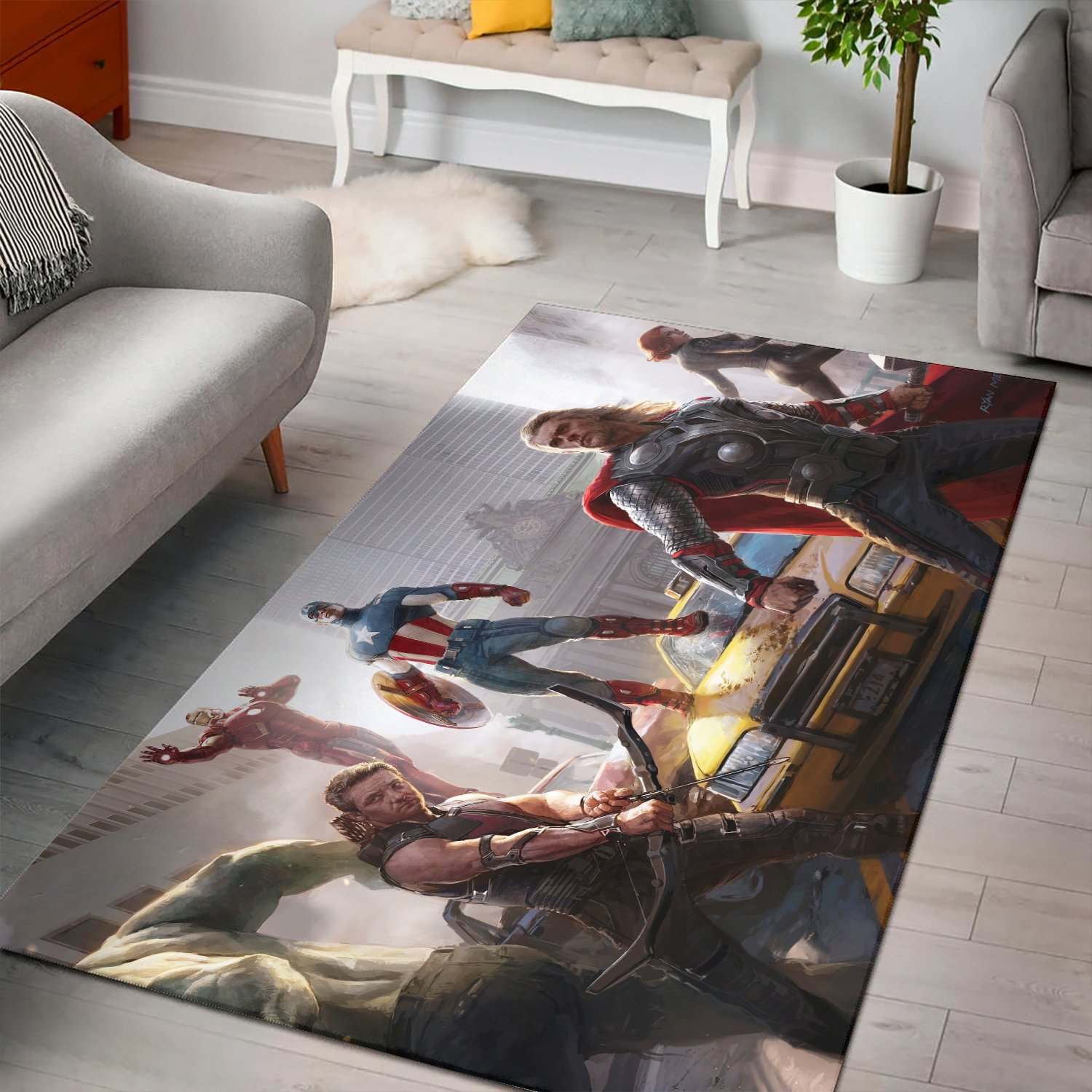The Avengers Concept Rug