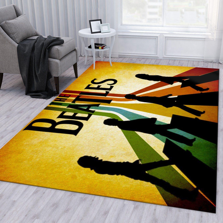 The Beatles Bedroom Rug