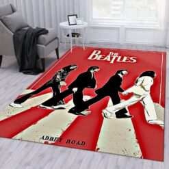 Abbey Road Vector Vintage Rug